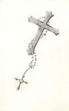 Carla Godman Tattoo Design Rosary Beads With Cross Design 997x1600 Pixel
