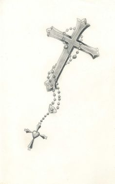 Carla Godman Tattoo Design Rosary Beads With Cross Design 997x1600 Pixel