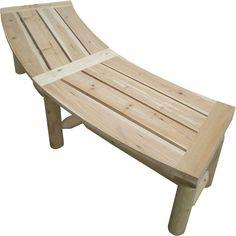 Cedar/Fir Log Firepit Bench is curved to fit pit area for comfortable seating around the campfire. Fire Pit Bench, Fire Pit Grill, Fire Pit Seating, Diy Fire Pit, Fire Pit Backyard, Seating Areas, Curved Pergola, Modern Pergola, Woodworking Projects