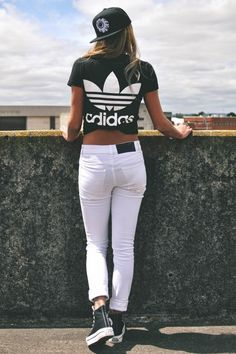 Always Dolled Up: Athleisure Street Style: 101 Ways to Wear Adidas