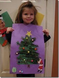 Lots of Christmas crafts