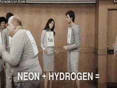 Chemical reaction gif?