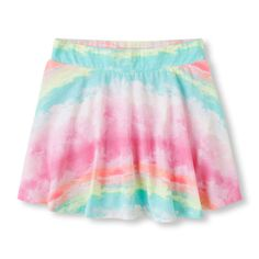 Image for Girls Printed Active Skort from The Children's Place