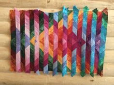 Beth's convergence quilt...