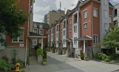 150 George St | Britain's Gate Residences | Home to 12 townhomes that range in size from 1880 sq ft to 2080 sq ft, each of which multi level units with street level access and private garages. Situated in between Moss Park and Old Town Toronto #Toronto #Townhomes