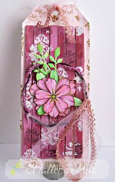 Cleo scrap and the other things: TAG SHABBY CHIC PINK