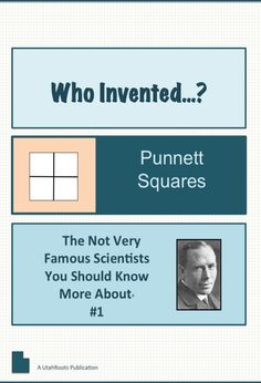 Free biographical sketch to teach about Reginald Punnett, the scientist who revolutionized the practical application of genetics.