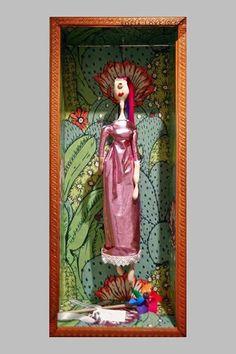 #32 Alba #handmade #dancing #freaky #dolls #independent #arts #label #2015 #fashion #milan #flowers