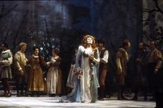 Dame Joan Sutherland as Ophelie in Ambroise Thomas' Hamlet.The Canadian Opera Company, 1985. A statuesque Ophelia Dame Joan still cut a touching figure.