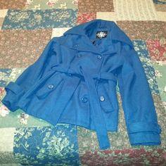 Teal belted peacoat sz XL Teal belted peacoat sz XL Jackets & Coats Pea Coats