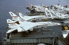 North American RA-5C Vigilante aircraft...