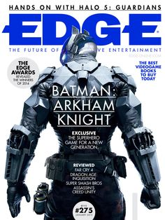 E275: Batman: Arkham Knight - The superhero game for a new generation - Edge Online