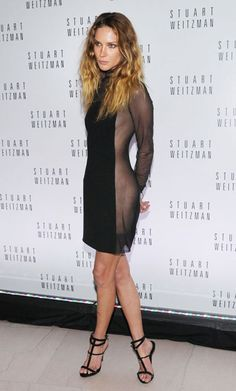 Erin Wasson (in Pucci) at the Boston Museum of Fine Arts Gala for Mario Testino. LOVE the risque nature of her dress diluted by a high neck and long sleeves