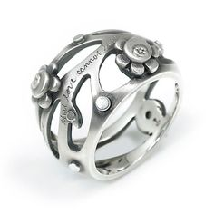 Poetry Ring....Jeanine Payer Aulaire ring