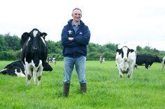 Cows stealing the shot #Cow #Farmer #Moo