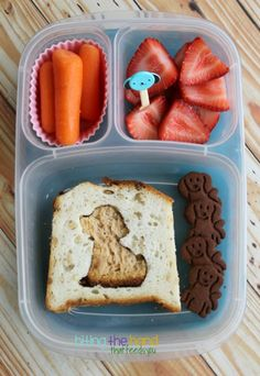 Biting The Hand That Feeds You: Lunch has Gone to the Dogs! Easy Lunch Boxes, Box Lunches, Picnic Lunches, Bento Box Lunch, Kids Packed Lunch, Little Lunch, Bento Ideas, Good Food, Yummy Food