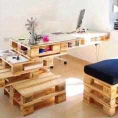 Europadėklai - puiki statybinė medžiaga baldams. Prireiks trupučio darbo, bet namų įrengimo biudžetą sumažinsite dešimteriopai!
