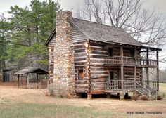 2 Story Log Cabin Homes - Bing images