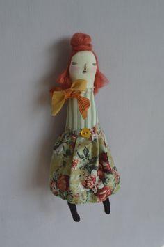 Little Fritha - An art doll by maidolls on Etsy