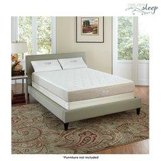 """Nature's Sleep 8.5"""" Cool Gel Memory Foam Mattress"""