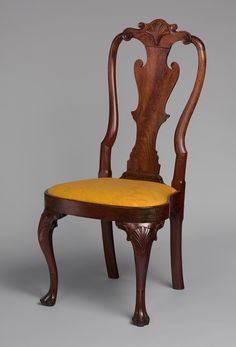 Incroyable American Period Queen Anne Furniture | Side Chair [Philadelphia] (62.171.21)
