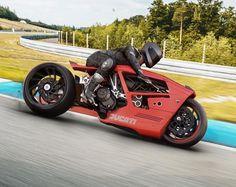 Custom Cafe Racer, Cafe Racer Bikes, Cafe Racers, Concept Motorcycles, Cool Motorcycles, Motorcycle Design, Bike Design, Ducati Diavel, Futuristic Motorcycle