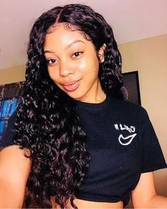 Curly Wigs Lace Frontal Wigs Long Curly Human Hair Lace Front Wigs – Shebelt mall