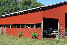 Page Farms: Red Barn