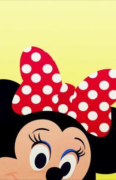 Minnie iPhone background by PetiteTiaras