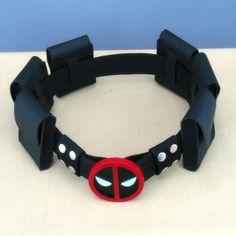Deadpool Utility Belt Halloween Costume Accessory