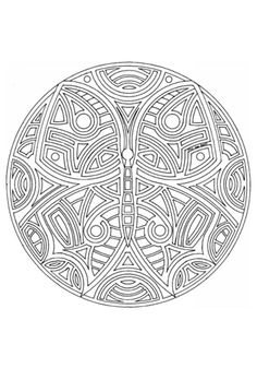 Bird Fish Tessellation by M.C. Escher coloring page ...