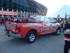 Vehicle wrap we did for the Ottawa Senators! #GoSensGo