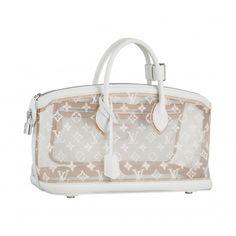 Louis Vuitton Lockit East-West Bag In Monogram Transparence