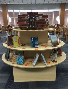 Book Turkey & Thanksgiving Display