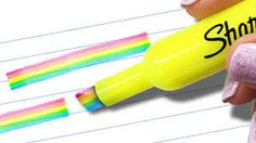 Image result for rainbow highlighter