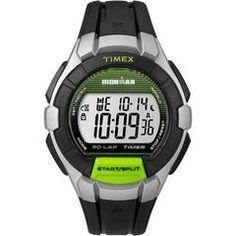 Timex IRONMAN&reg Essential 30 Full-Size Watch - Green/Gray