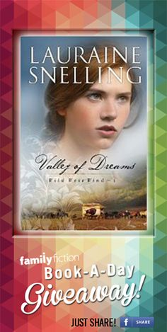 Photo: Just 4 days left of the #FreeDailyBook giveaway! SHARE this image for your chance at winning a FREE copy of Lauraine Snelling (Official)'s Valley Of Dreams. RePin on Pinterest and comment the hashtag on Instagram - good luck!