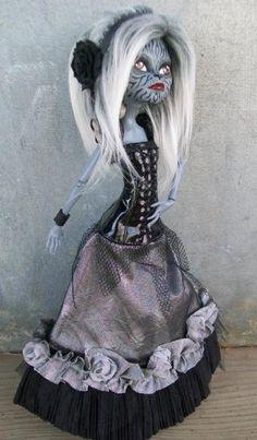Monster High Custom OOAK Cat Twin Custom 'Sybil' | eBay