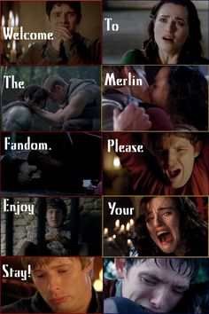 The best thing is that I actually do that face whenever Merlin is the subject.