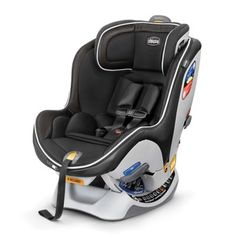 The Chicco NextFit iX Zip LUXE Convertible Car Seat features RideRight bubble levels that accurately indicate the correct seat angle for hassle-free installation plus a convenient Zip & Wash seat in a Luxury Edition fabric for added style and comfort.