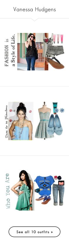 """Vanessa Hudgens"" by anduhhrea ❤ liked on Polyvore featuring Sam Edelman, Wet Seal, Hollister Co., Forever 21, adorable, LG, Melissa, H&M, Tarina Tarantino and floral"