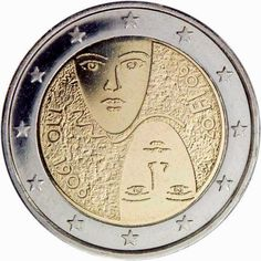 Finnish commemorative 2 euro coins, 100 years of universal and equal suffrage in Finland Commemorative 2 euro coins from Finland Piece Euro, Numismatic Coins, Euro Coins, Legal Tender, Coin Worth, Gold And Silver Coins, Commemorative Coins, Proof Coins, Gold Bullion