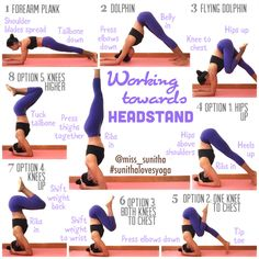 Working towards headstand yoga tutorial. Check out the weblink for detailed alignment cues. . IG: @miss_sunitha #sunithalovesyoga YouTube: yoga with miss sunitha