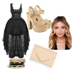 """"""":)"""" by dzenana11 ❤ liked on Polyvore featuring Lipsy, Accessorize and GUESS"""