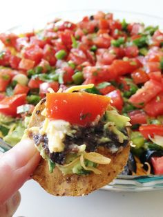 Healthified 7 Layer Dip Recipe