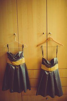 Silver & Yellow  http://brds.vu/A7vxNZ  #dress