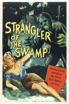 A man unjustly hanged comes back in spirit form to enact revenge in 1946's low-budget The Strangler of the Swamp.