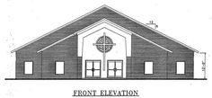 Church Plan #113 | LTH Steel Structures