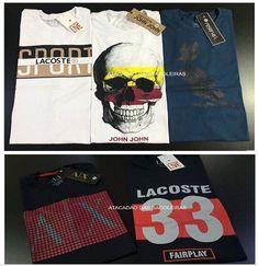 63a2cbc6b Kit 10 Camisetas Premium Cores e marcas já vem sortidas. Malha fio 30.1 /  100