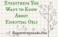 Everything You Ever Wanted to Know About Essential Oils ~ Raising the Barrs Essential Oil Uses, Young Living Essential Oils, Keeping Healthy, How To Stay Healthy, Health And Beauty Tips, Health And Wellness, Alternative Medicine, Natural Medicine, Natural Living